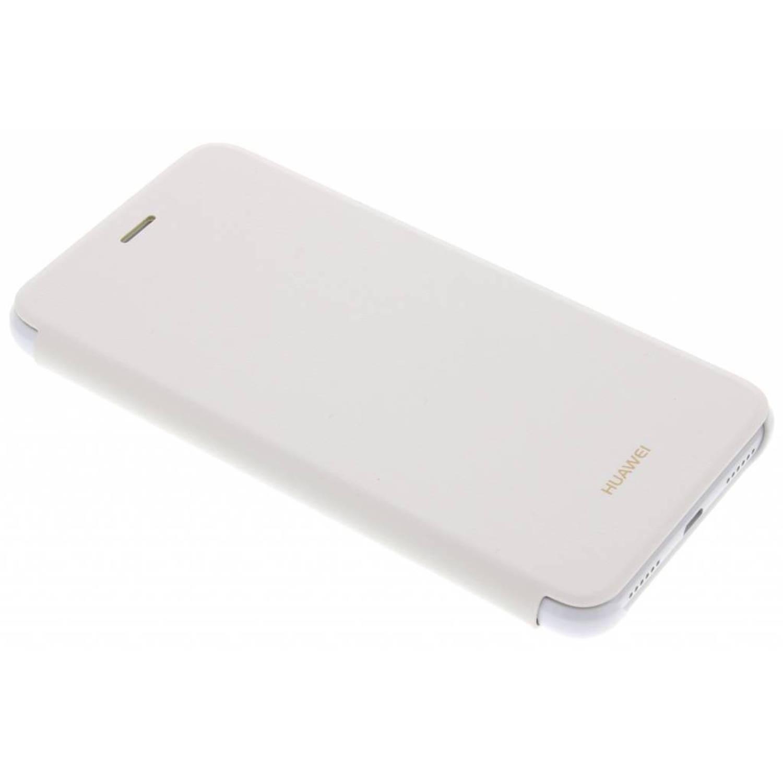Witte Flip Cover voor de Huawei P8 Lite (2017)