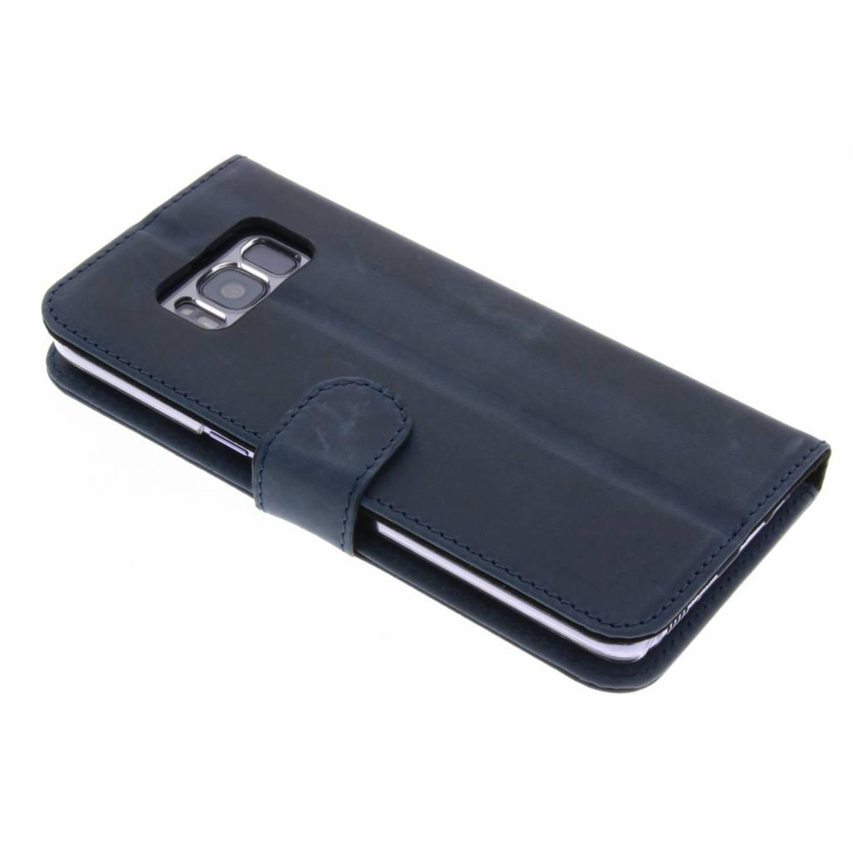 Blauwe Booklet Classic Luxe voor de Samsung Galaxy S8
