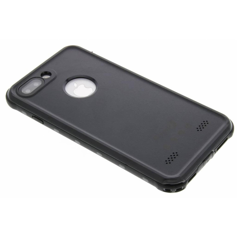 Dot Waterproof Case voor de iPhone 8 Plus / 7 Plus - Zwart