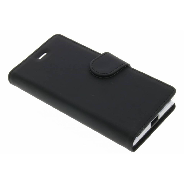 Wallet tpu booklet voor de sony xperia x compact - zwart