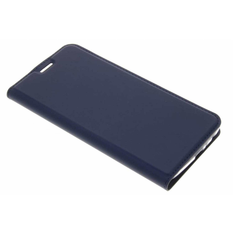 Blauwe Slim TPU Booklet voor de Motorola Moto G5 Plus