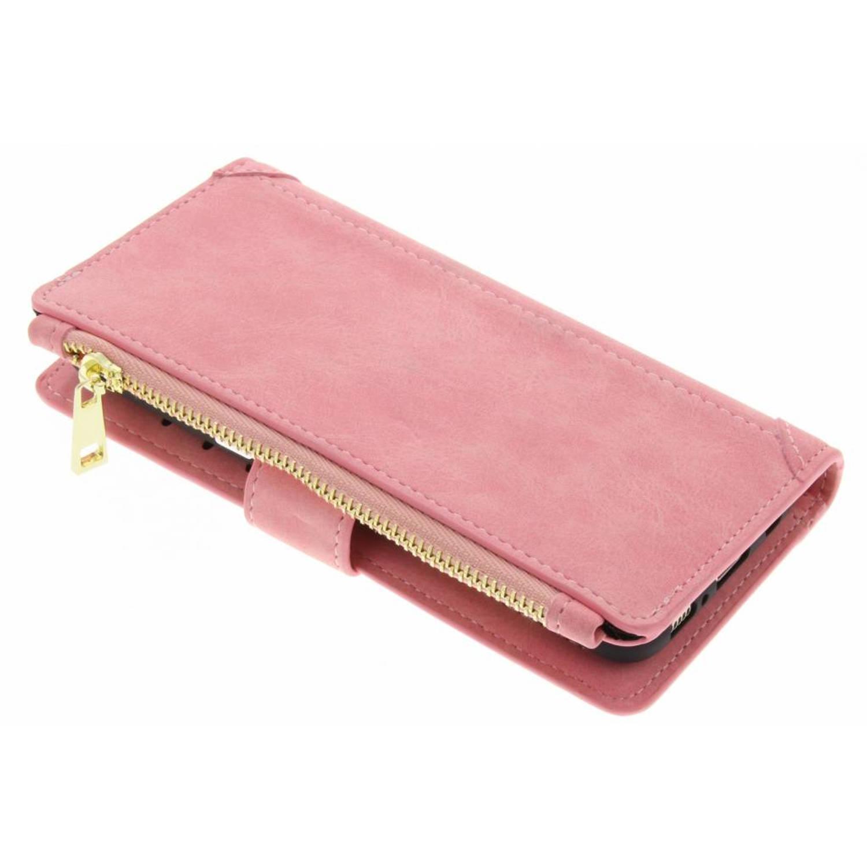 Roze luxe portemonnee hoes voor de Samsung Galaxy S8 Plus