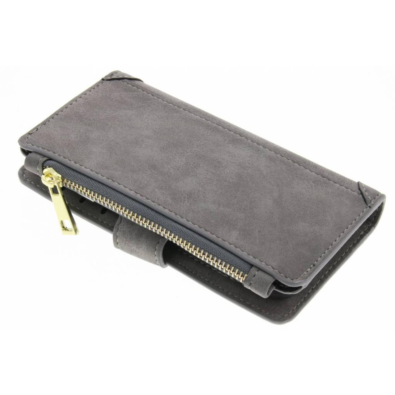Grijze luxe portemonnee hoes voor de iPhone 8 / 7