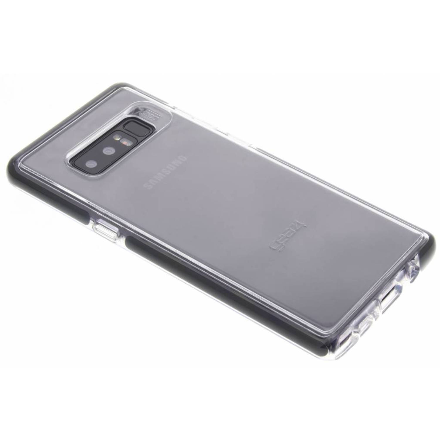 Transparante Liquid Crystal Case voor de Samsung Galaxy Note 8