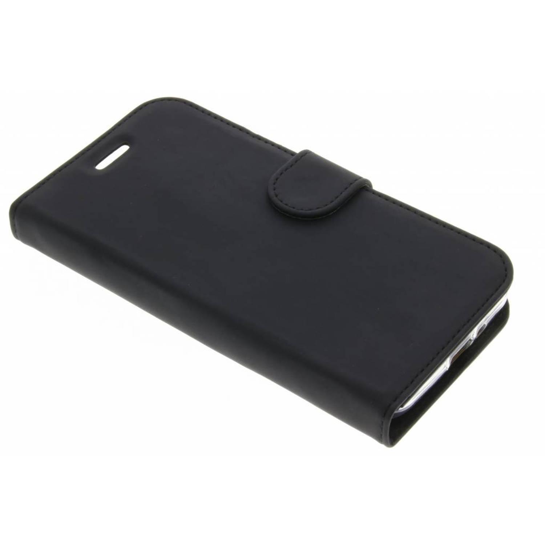 Zwarte Wallet TPU Booklet voor de Samsung Galaxy Xcover 4
