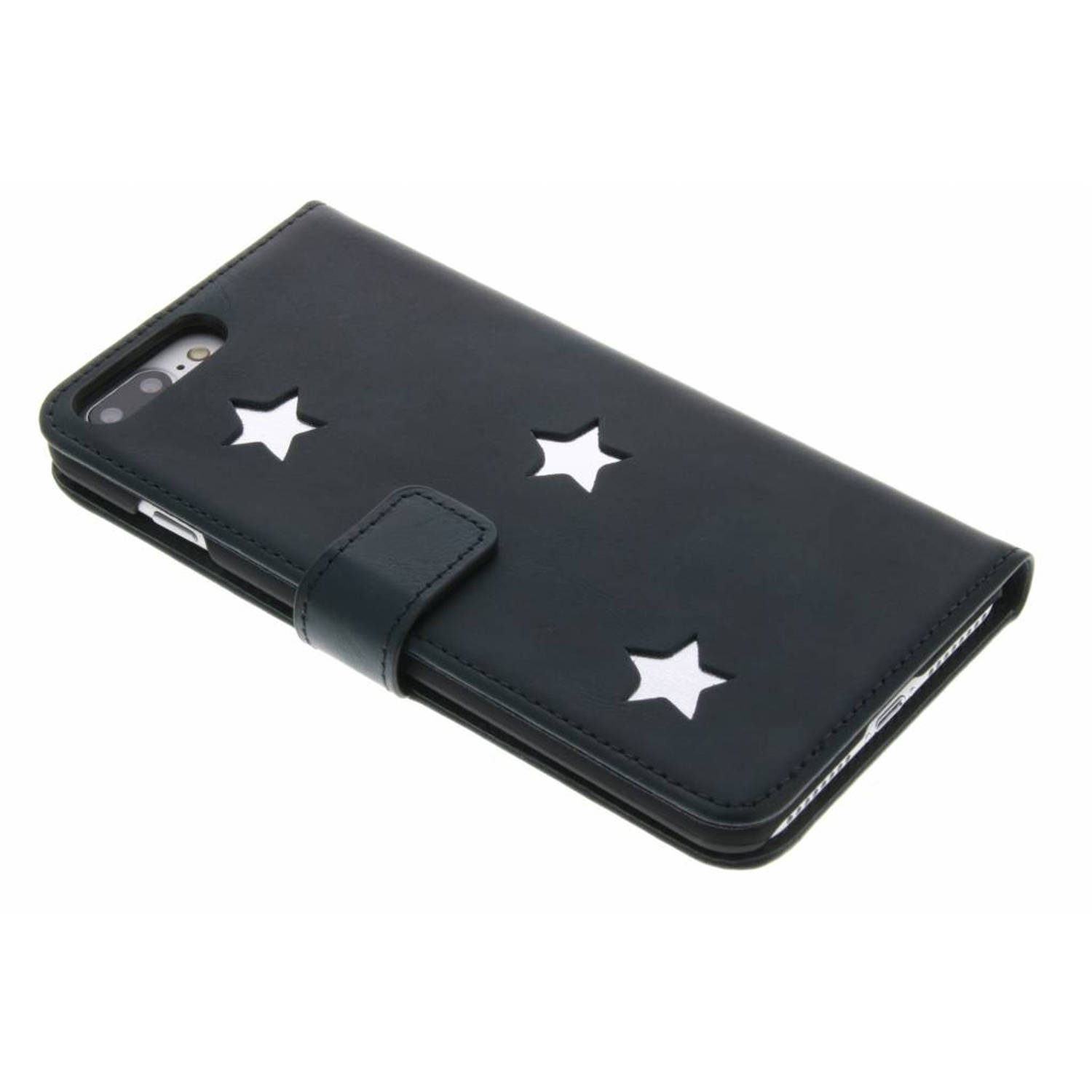 Silver Reversed Star Booktype hoes voor de iPhone 8 Plus / 7 Plus