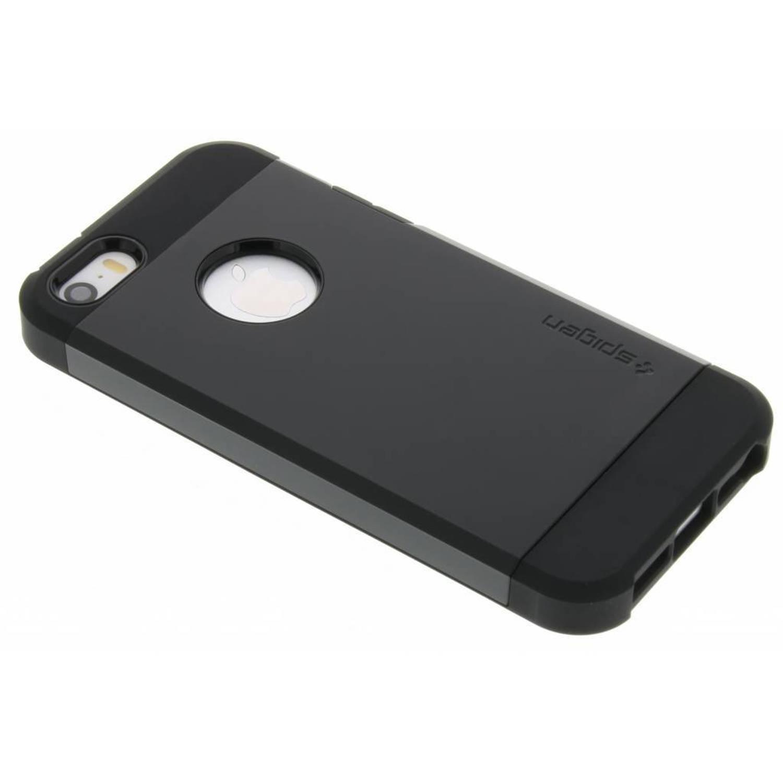 Zwarte Tough Armor Case voor de iPhone 5 / 5s / SE