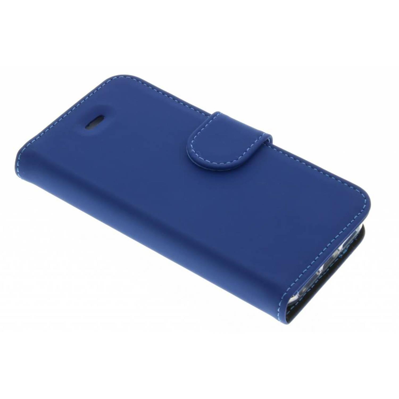 Wallet TPU Booklet voor de iPhone 5 / 5s / SE - Blauw