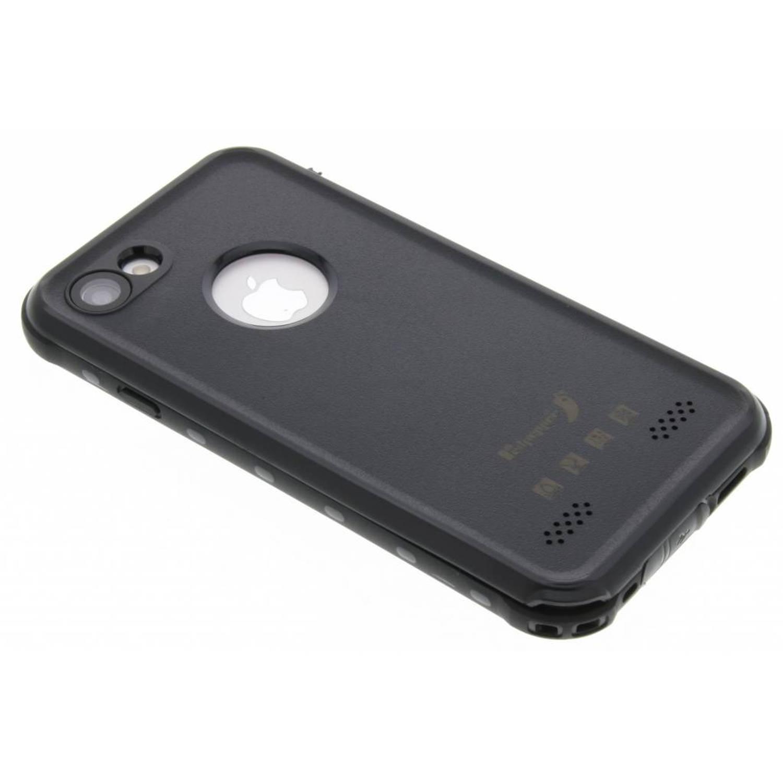 Dot Waterproof Case voor de iPhone 8 / 7 - Zwart