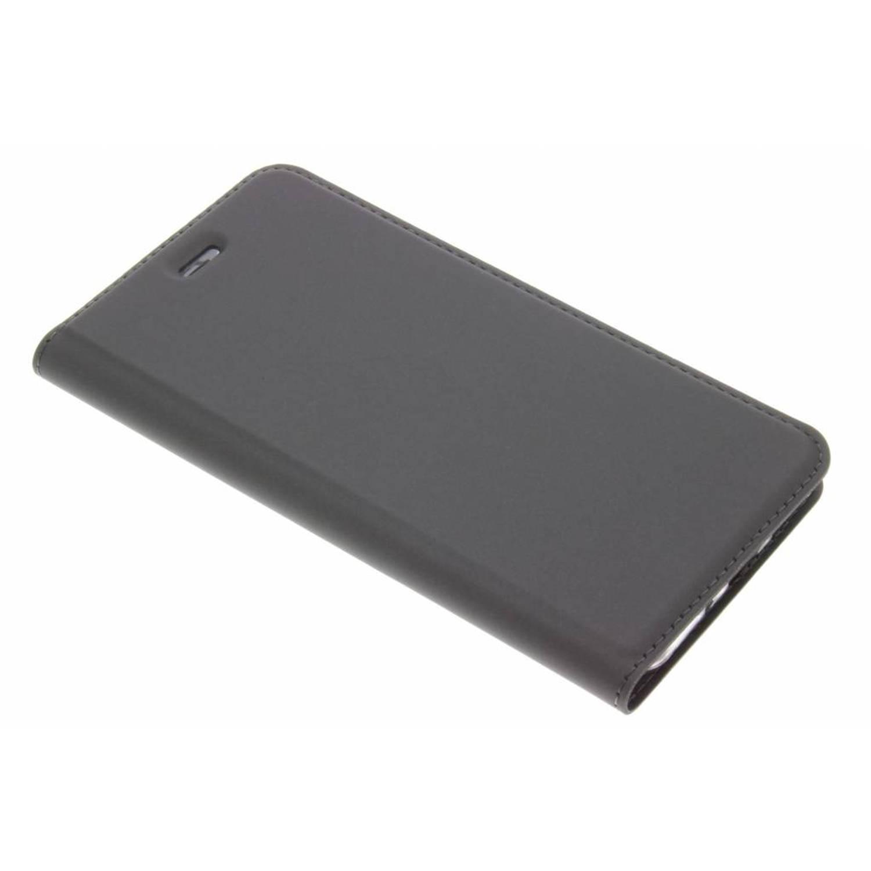 Grijze Slim TPU Booklet voor de Huawei P10 Lite