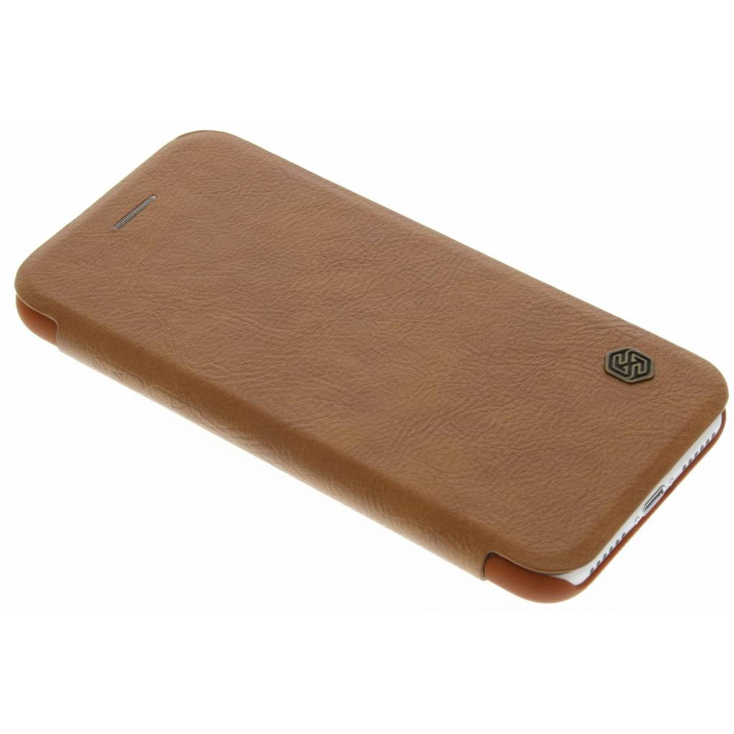 Qin Leather slim booktype hoes voor de iPhone 8 / 7 - Bruin