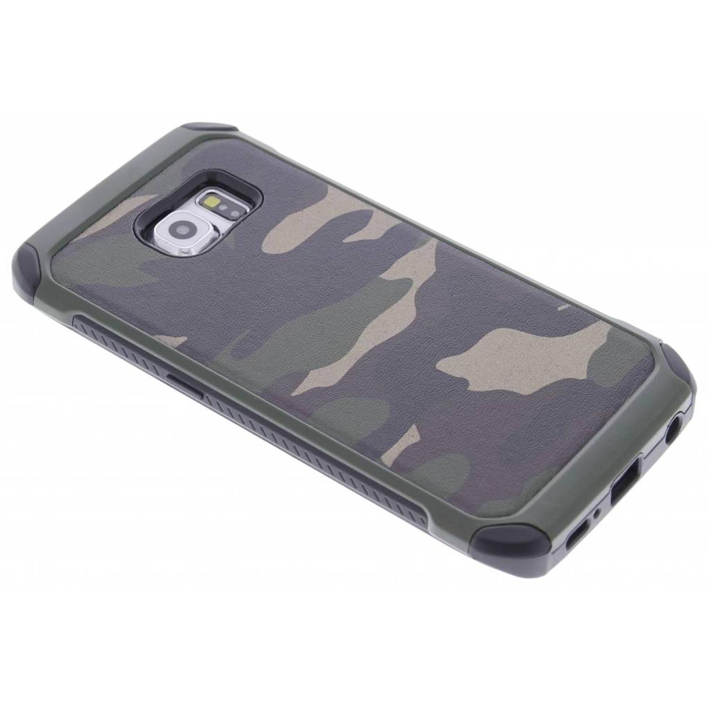 Groen army defender hardcase hoesje voor de Samsung Galaxy S6 Edge
