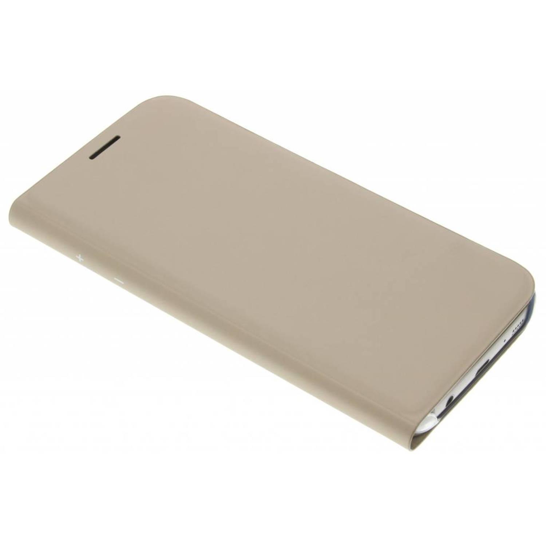 gouden originele Flip Wallet voor de Galaxy S7