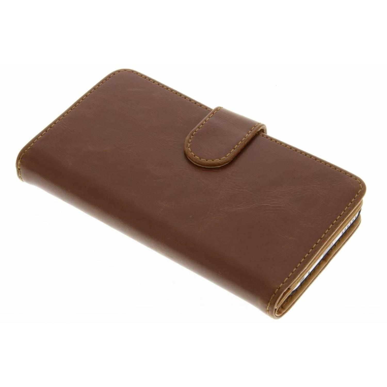 Kastanjebruine 14-vaks wallet case voor de iPhone 6 / 6s