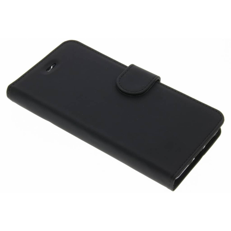 Zwarte Wallet TPU Booklet voor de Huawei P10 Lite