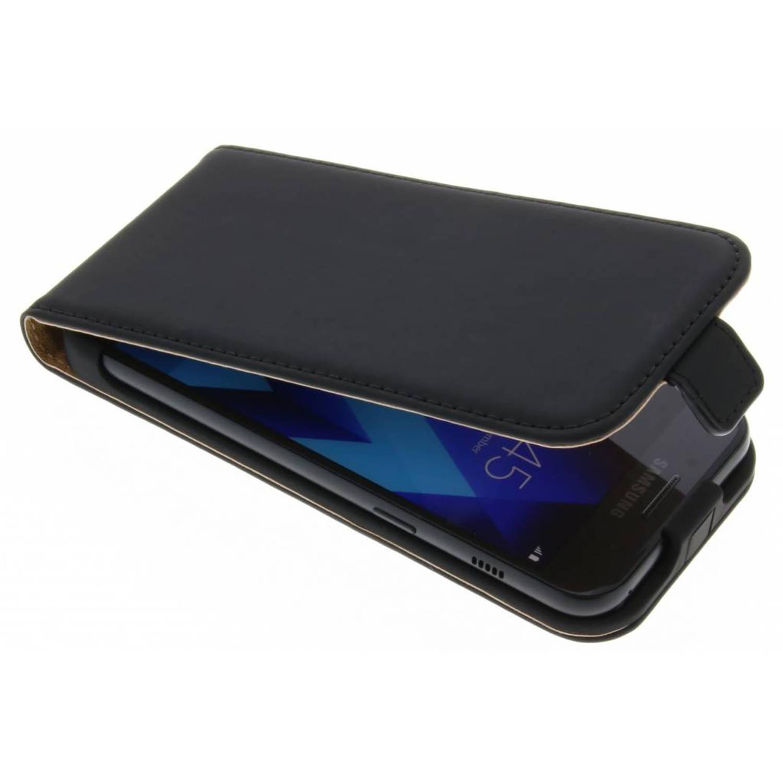 Zwart Luxe Flipcase voor de Samsung Galaxy A3 (2017)