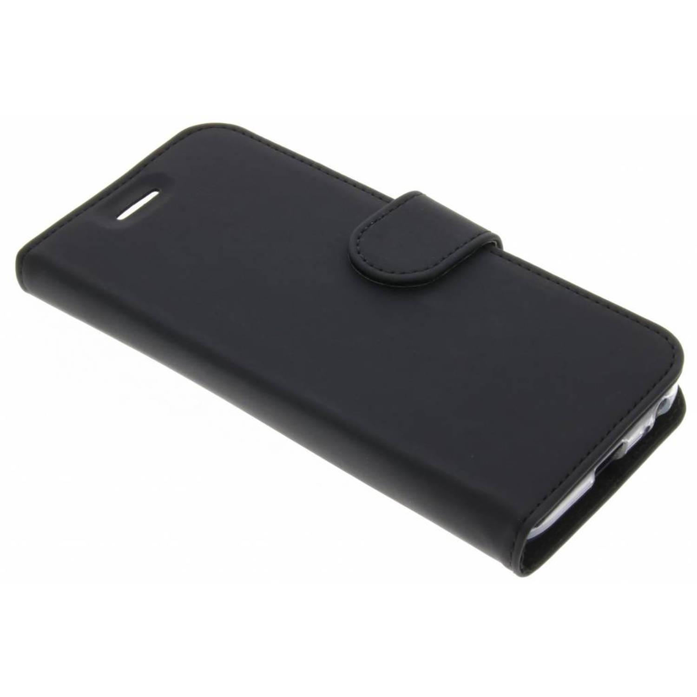 Zwarte Wallet TPU Booklet voor de Samsung Galaxy J3 (2017)