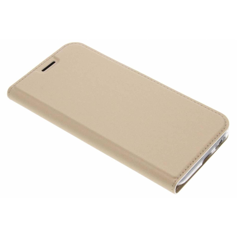 Gouden Slim TPU Booklet voor de Samsung Galaxy A5 (2017)