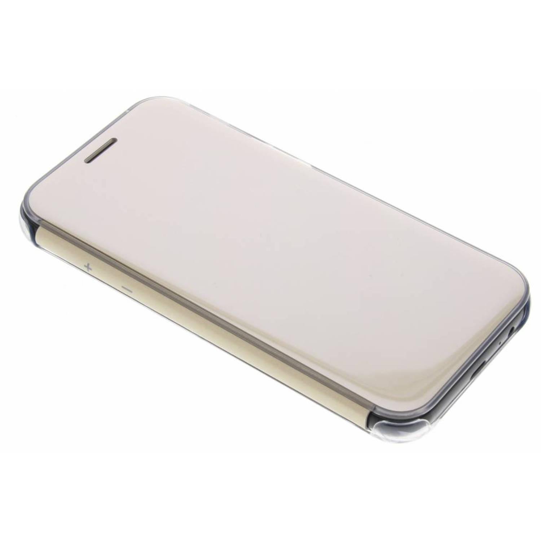 Originele Clear View Cover voor de Galaxy A5 (2017) - Goud