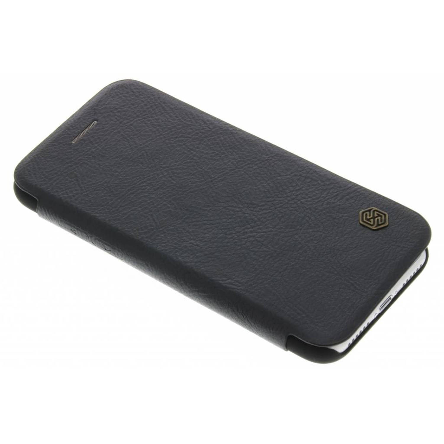 Qin Leather slim booktype hoes voor de iPhone 8 / 7 - Zwart