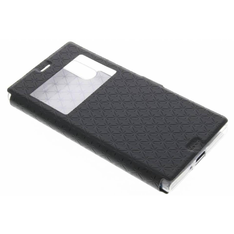Regarder Marbre Noir Couverture Étui Rigide Pour Sony Xperia Xz / Xzs uartNC8