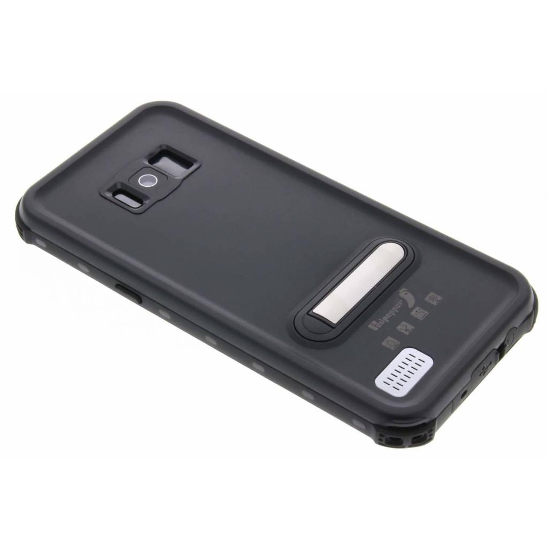 Zwarte Dot Waterproof Case voor de Samsung Galaxy S8 Plus