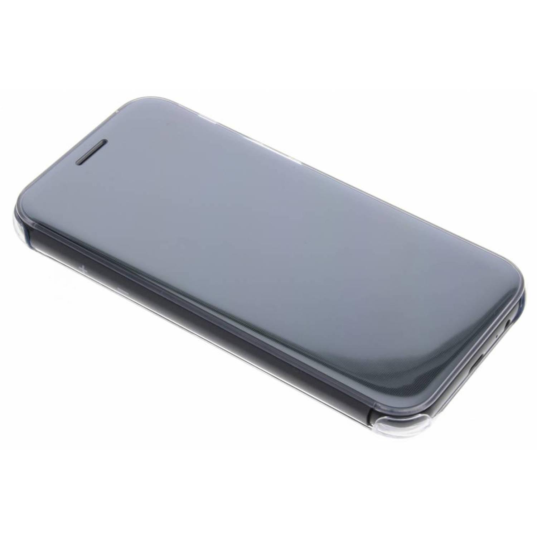 Zwarte Originele Clear View Cover voor de Galaxy A5 (2017)