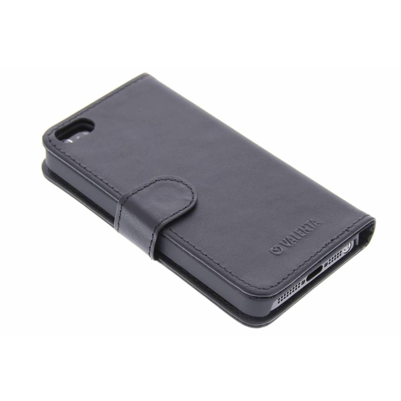 Booklet Classic Luxe voor de iPhone 5 / 5s / SE - Zwart