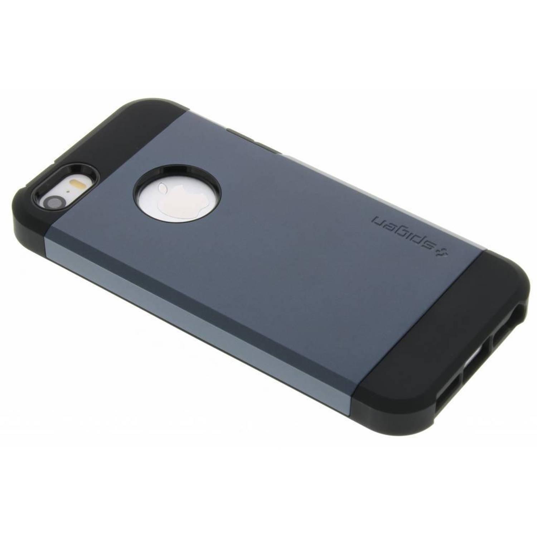 Blauwe Tough Armor Case voor de iPhone 5 / 5s / SE