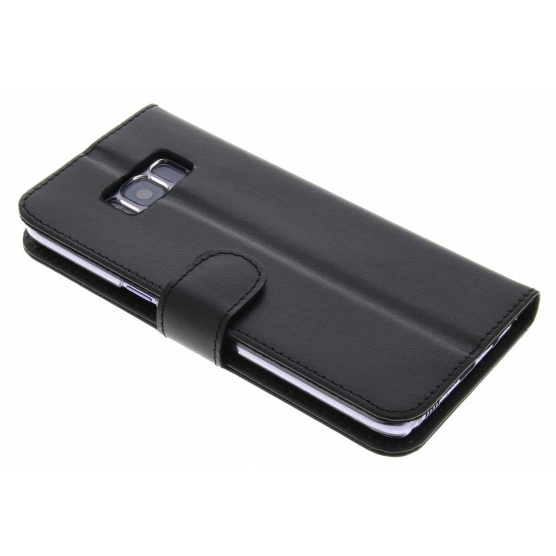 Zwarte Valenta Booklet Classic Luxe voor de Samsung Galaxy S8