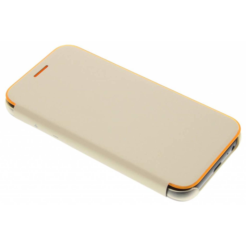 Gouden Originele Neon Flip Cover voor de Galaxy A3 (2017)