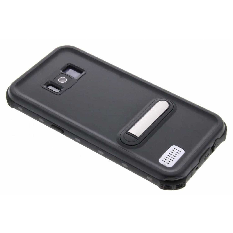 Zwarte Dot Waterproof Case voor de Samsung Galaxy S8