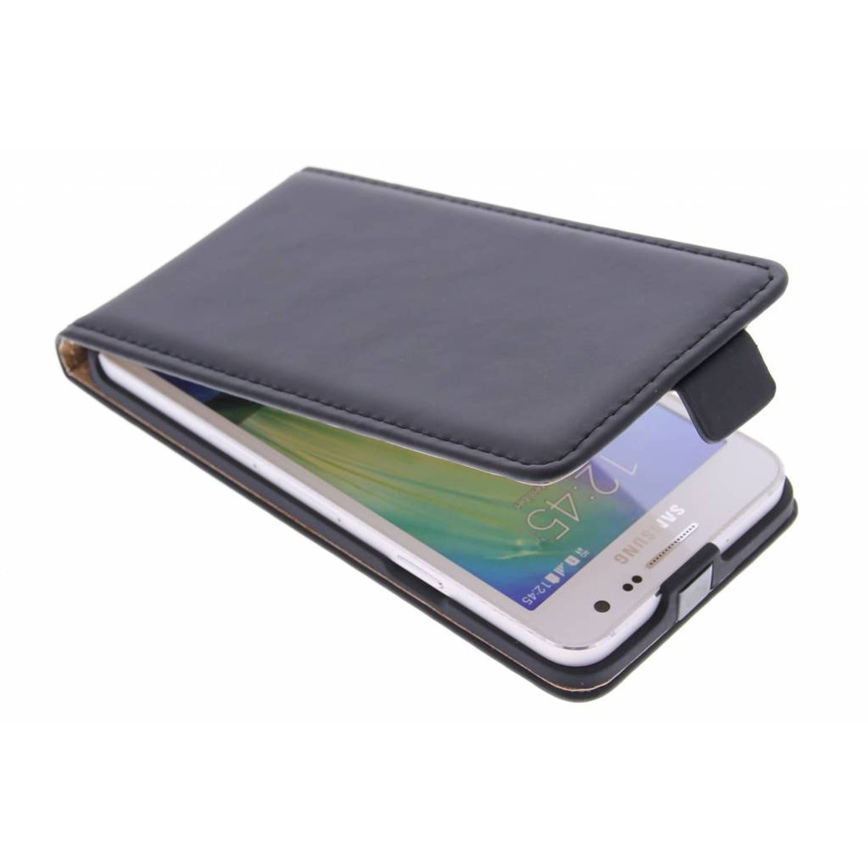 Luxe Flipcase voor de Samsung Galaxy A3 - Zwart