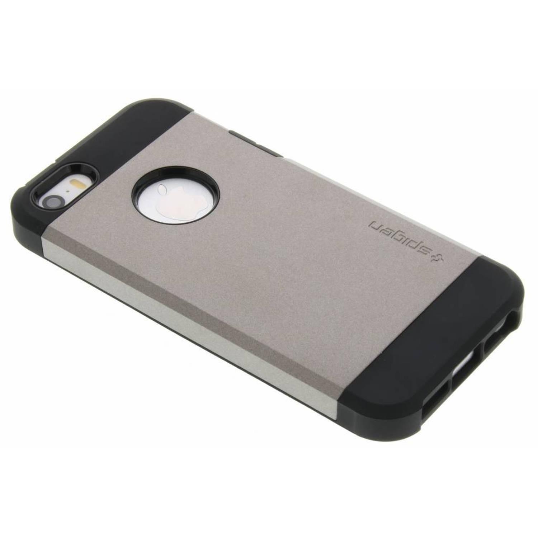Grijze Tough Armor Case voor de iPhone 5 / 5s / SE