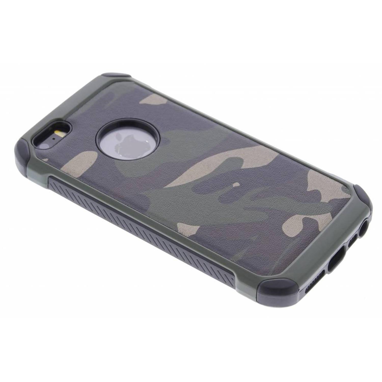 Groen army defender hardcase hoesje voor de iPhone 5 / 5s / SE