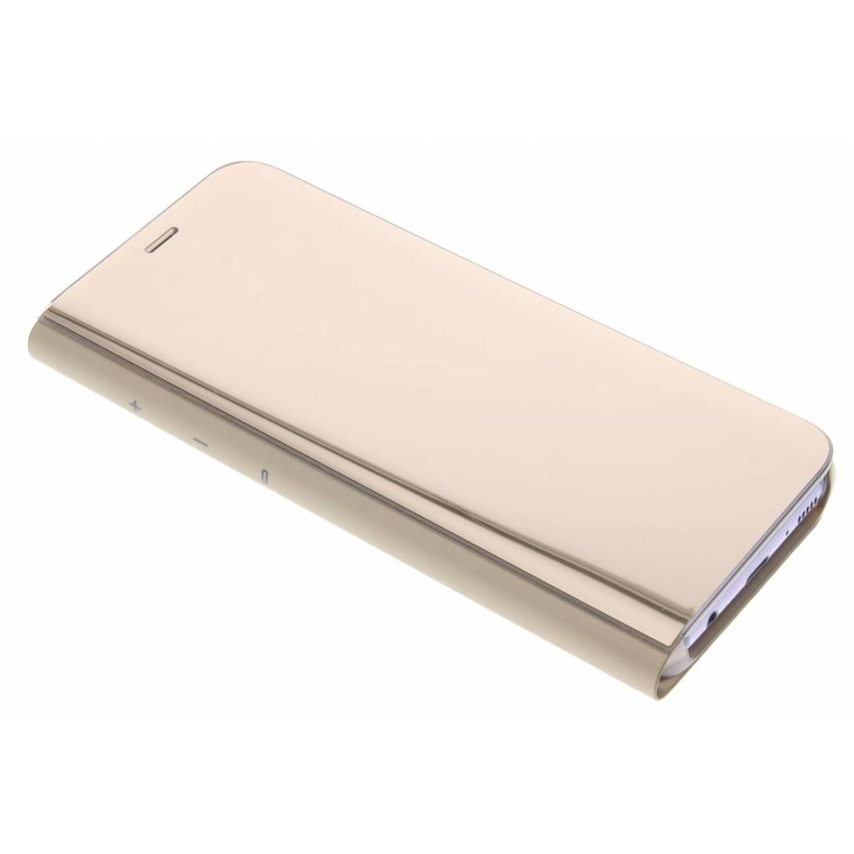 Gouden Clear View Standing Cover voor de Galaxy S8