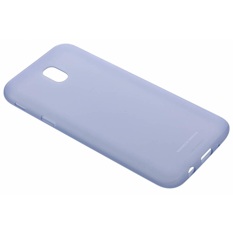 Blauwe Jelly Cover voor de Galaxy J5 (2017)