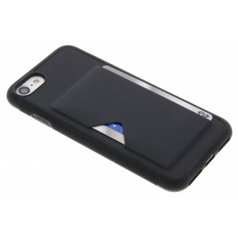 Zwarte Cardslot Hardcase voor de iPhone 8 / 7