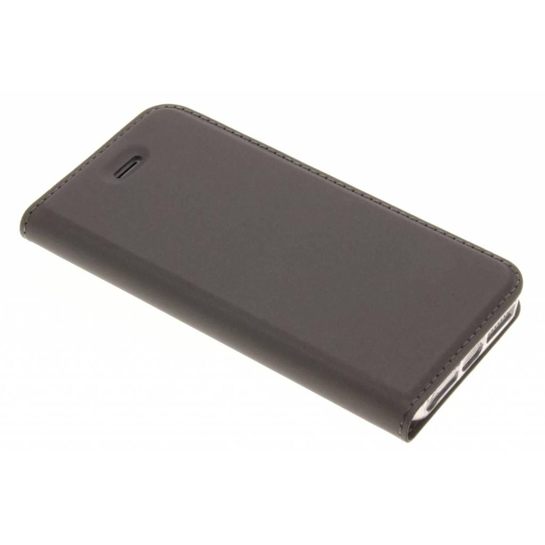 Grijze Slim TPU Booklet voor de iPhone 5 / 5s / SE