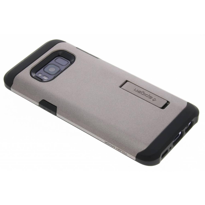 Zilveren Tough Armor Case voor de Samsung Galaxy S8
