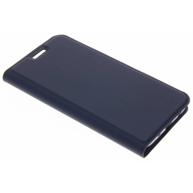 Blauwe Slim TPU Booklet voor de Samsung Galaxy J5 (2017)