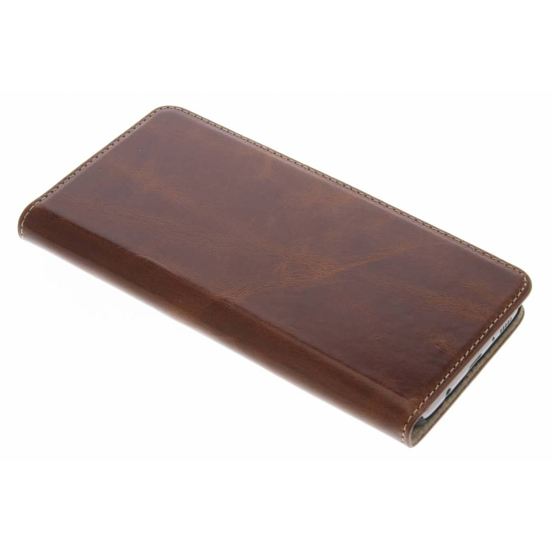 Oaked Cognac Excellent Wallet Case voor de Samsung Galaxy S8