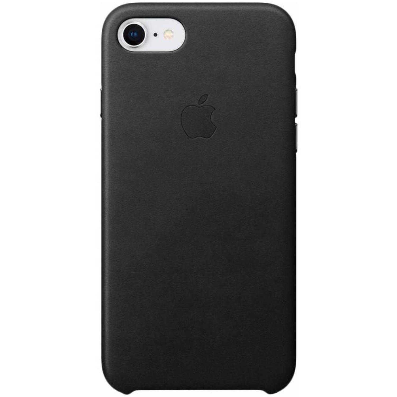 Zwarte Leather Case voor de iPhone 8 / 7