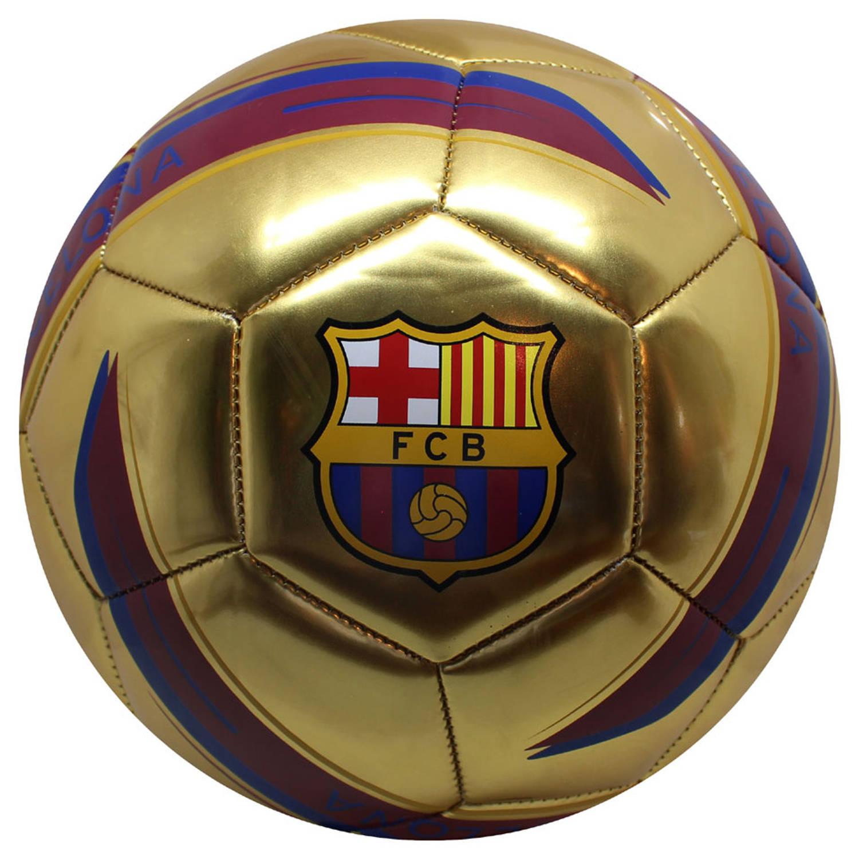 Zitzak Fc Barcelona.Fc Barcelona Bal Goud Maat 5 Blokker