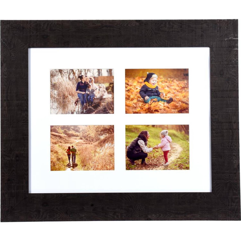 Henzo fotolijst Woodstyle Gallery - 40 x 50 cm - donker bruin