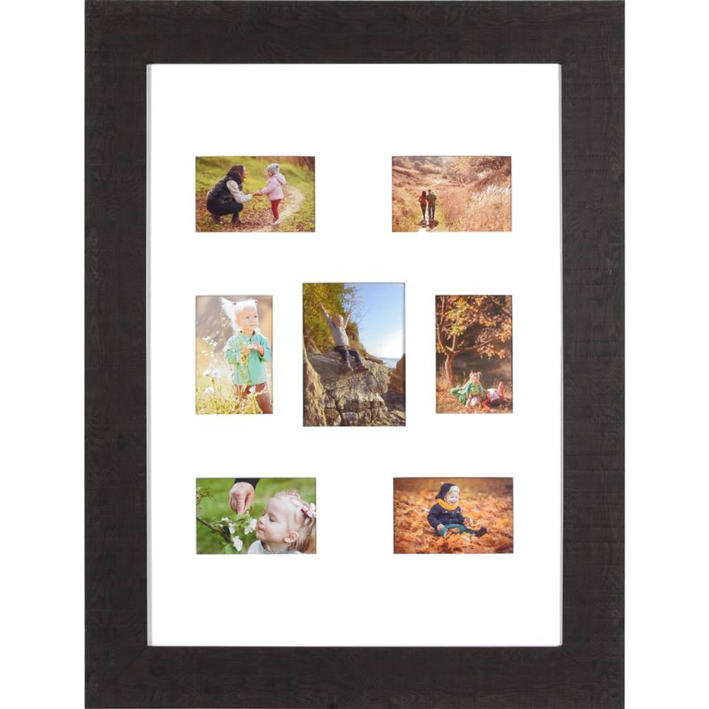 Henzo fotolijst Woodstyle Gallery - 50 x 70 cm - donker bruin