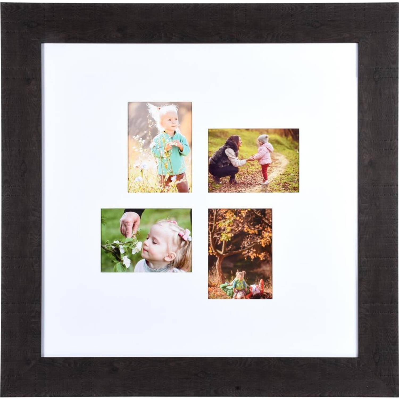 Henzo fotolijst Woodstyle Gallery - 60 x 60 cm - donker bruin