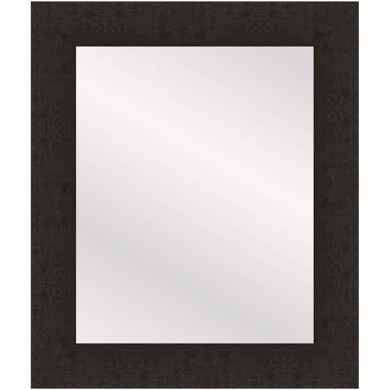 Henzo spiegel Woodstyle - 40 x 50 cm - donker bruin