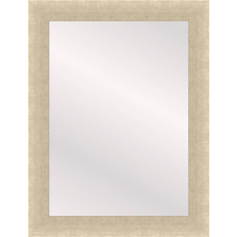 Henzo spiegel Woodstyle - 50 x 70 cm - creme