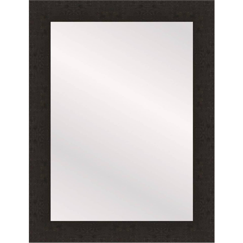 Henzo spiegel Woodstyle - 50 x 70 cm - donker bruin